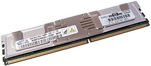 -A- DDR 1GB DIMM REGISTERED PC2700 HP Genuine P/N: 358348-B21;36 Image
