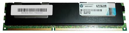 HP / SAMSUNG 4GB PC3-10600R DDR3-1333 REGISTERED ECC 2RX4 CL9 24 Image