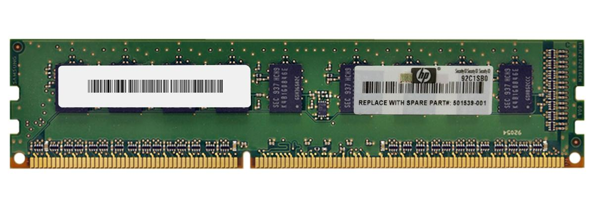 HP 1GB (1X1GB) PC3-10600E MEMORY KIT Image