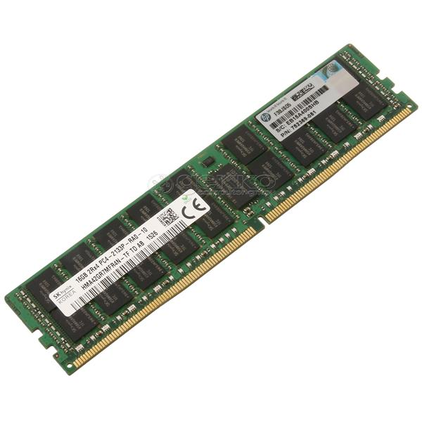HP / SK HYNIX 16GB PC4-17000P-R DDR4-2133P REGISTERED ECC 2RX4 C Image